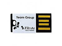 Team Card reader внешний (T11A1B01) microSD/microSDHC Black