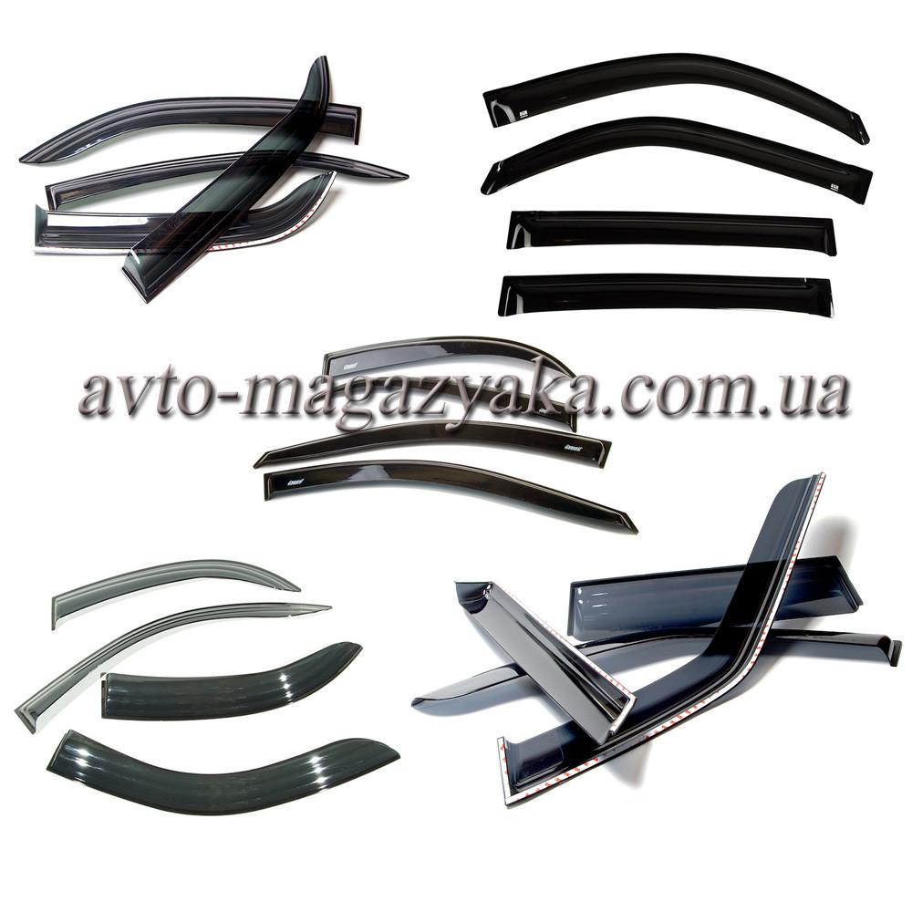 Дефлекторы на боковые стекла Daewoo Gentra Sd 2013 деф.окон   COBRA TU