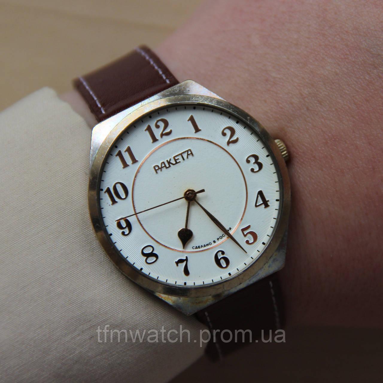 Часы мужские наручные механические ракета фото