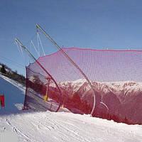 Сети безопасности для горнолыжных спусков.