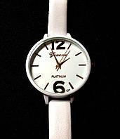 Женские часы Geneva, кварцевые белые