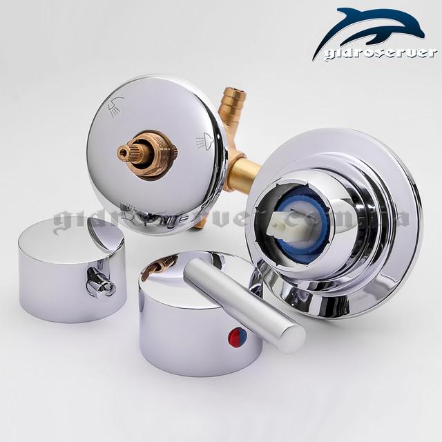 Смеситель для душевой кабины, гидробокса S3-90 на 3 режима работы переключателя .