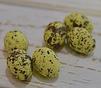 Яйца разноцветные 1,5*2,5см  набор 6шт