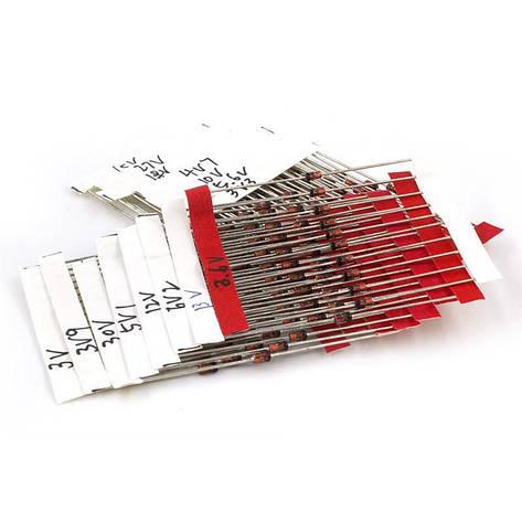 Комплект стабилитронов  3.3-30В 1Вт  , фото 2