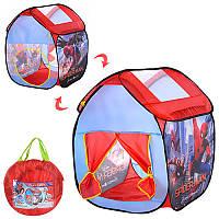Палатка домик детская игровая Спайдермен (Человек паук), размер 67-67-85 см см, M 3740