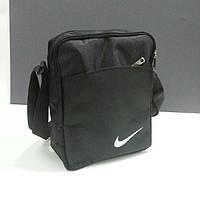Мужская спортивная сумка-барсетка Nike . Черный, большая .201 .