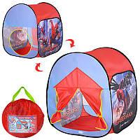 Палатка домик детская игровая Спайдермен (Человек паук), размер 72-72-88 см, M 3742