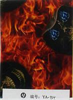HD пленка огни с черепом YA954 (100см)
