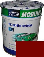"""Автокраска Mazda NU Эмаль акриловая Helios Mobihel """"Vintage Red"""" 1л без отвердителя"""
