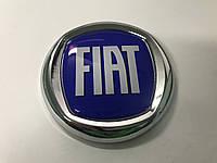 Fiat Palio Значок синий 75 мм