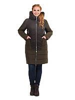 Куртка комбинированная, большие размеры