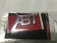 Audi Q7 хром шильдик ABT
