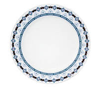 "Набор 8 тарелок ""Узор"" Ø19.5см, керамика"