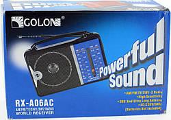 Радіоприймач FM Радіо GOLON RX-A06AC