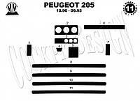 Peugeot 205 Накладки на панель