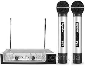 Superlux VT96DD радиосистема VHF, на 2 микрофона