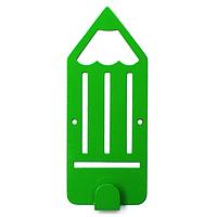 Крючок настенный детский Glozis Pencil Green