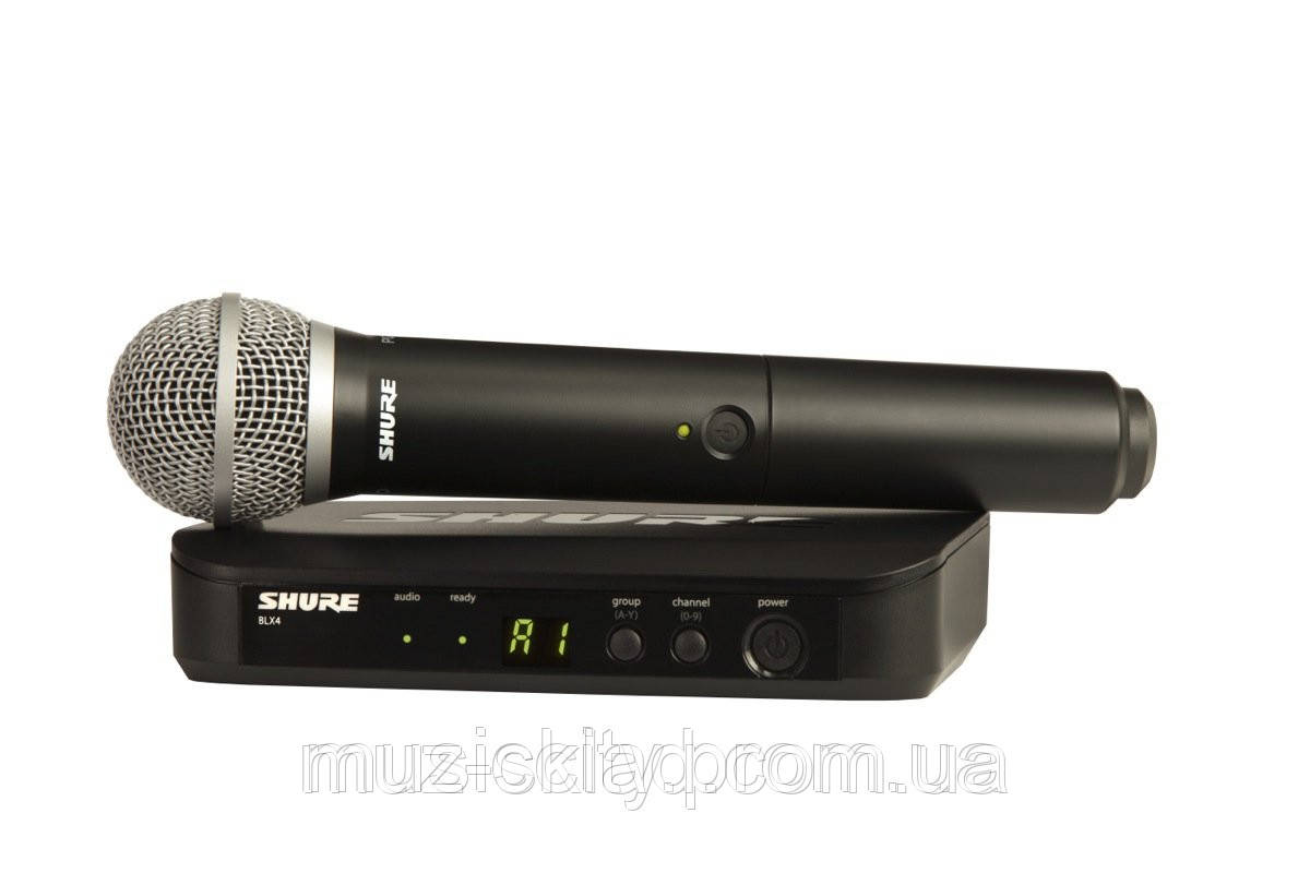 Shure BLX24EPG58 радиосистема UHF с ручным кардиоидным микрофоном