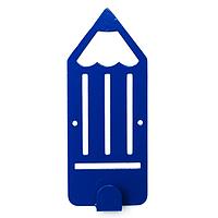 Крючок настенный детский Glozis Pencil Blue