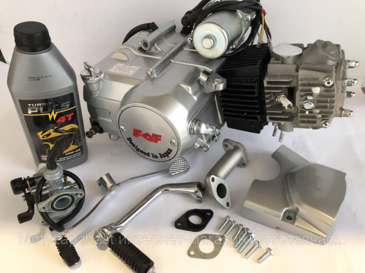 Двигатель в сборе Альфа/Дельта 110сс механика (+карбюратор) FDF