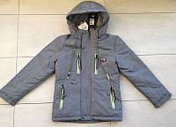 Демисезонная курточка на мальчика  4-8 лет