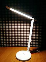 Настольная светодиодная лампа Feron DE1140 8w белая с переключением цветовой температуры