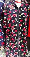 Женские халаты велюровый больших размеров в ассортименте