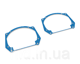 Переходные рамки  AUDI A5, Q5, Q7 линзы HELLA 3 / 3R