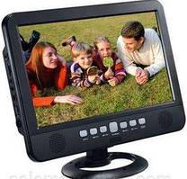 """ЖК Телевизор аккумуляторный LED TV NS-1001 USB Экран 13,8"""" 220в и 12в"""