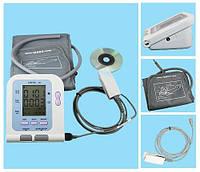 Тонометр цифровой автоматический CONTEC 08А +SpO2 LCD цветной дисплей, память на 3 пациента отдельно по 99 записей+ПО