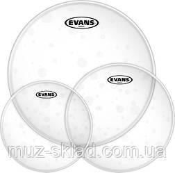 """EVANS ETPHYDGL-R HYDRAULIC CLEAR ROCK набор прозрачных двухслойных пластиков 10"""", 12"""", 16"""""""