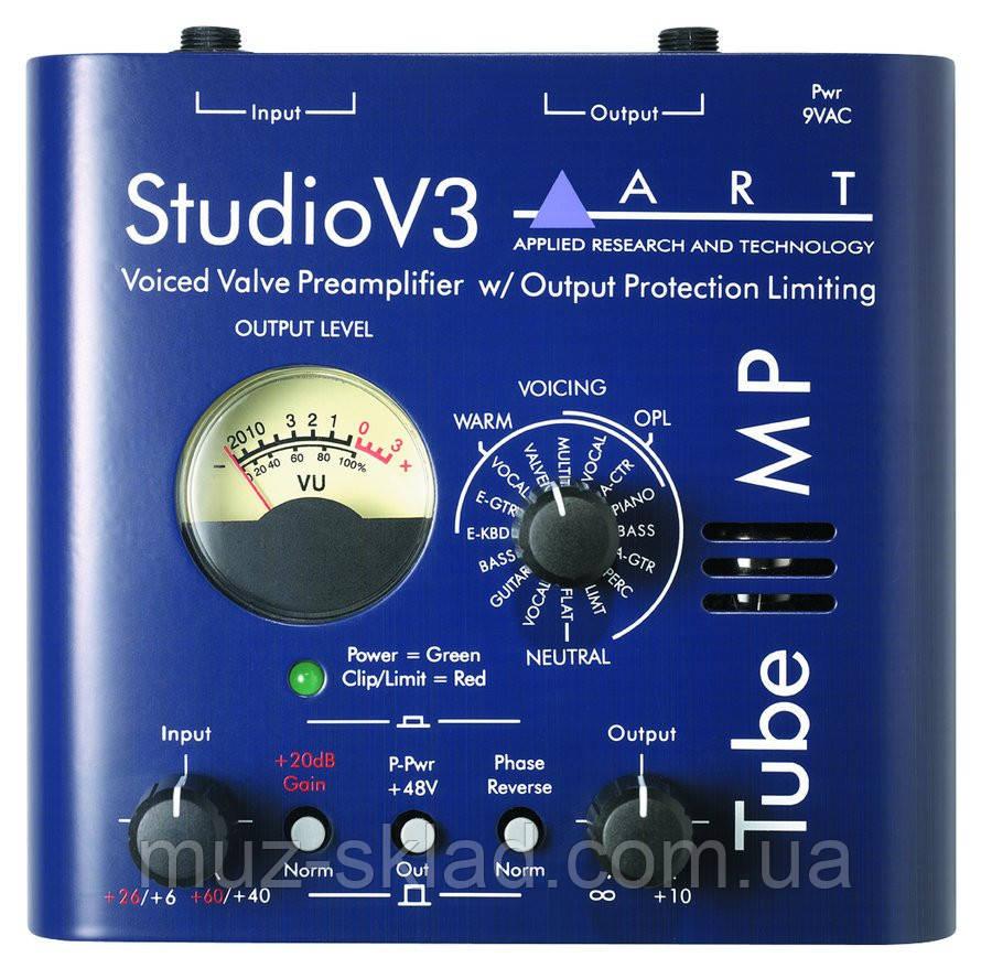 ART Tube MP Studio V3 одноканальный ламповый предусилитель