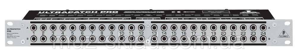 Behringer PX 3000 коммутационная панель