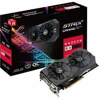 Видеокарта ASUS Radeon RX 570 4096Mb ROG STRIX GAMING OC (ROG-STRIX-RX570-O4G-GAMING)