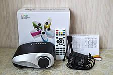 LED Проектор светодиодный с ТВ тюнером RD 802 Мультимедийный USB HDMI