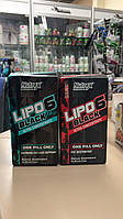 Lipo-6 Black Ultra Concentrate Nutrex Research 60 black-caps. топ жиросжигатель США