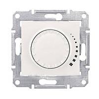 Светорегулятор поворотный емкостной Schneider  Sedna Белый (SDN2200621)