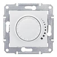 Светорегулятор поворотно-нажимной емкостной  Schneider Sedna Белый (SDN2200721)