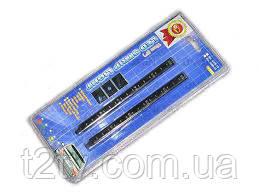 Подсветка салона 90101R-15  15LEDх15см в прикурив/звук.сенсор/красн (пара)