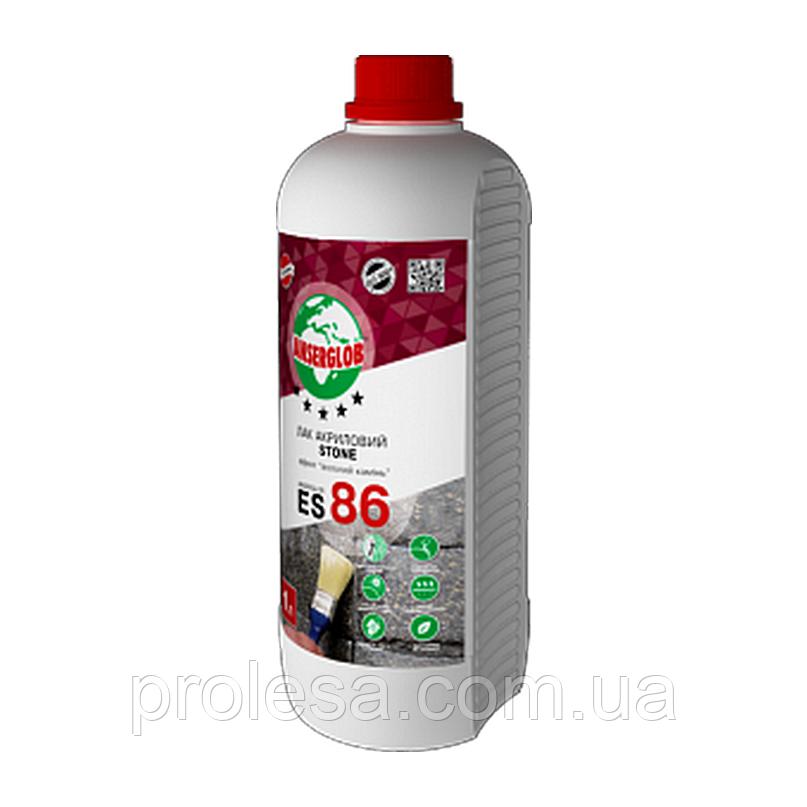 Лак акриловий Anserglob ES-86 STONE (1л)