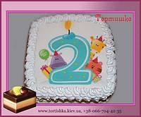 Торт Цифра Два