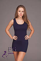 "Платье майка ""Jersey"" т-синий, 46-48"