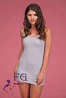 "Платье майка ""Jersey"" серый, 42-44"