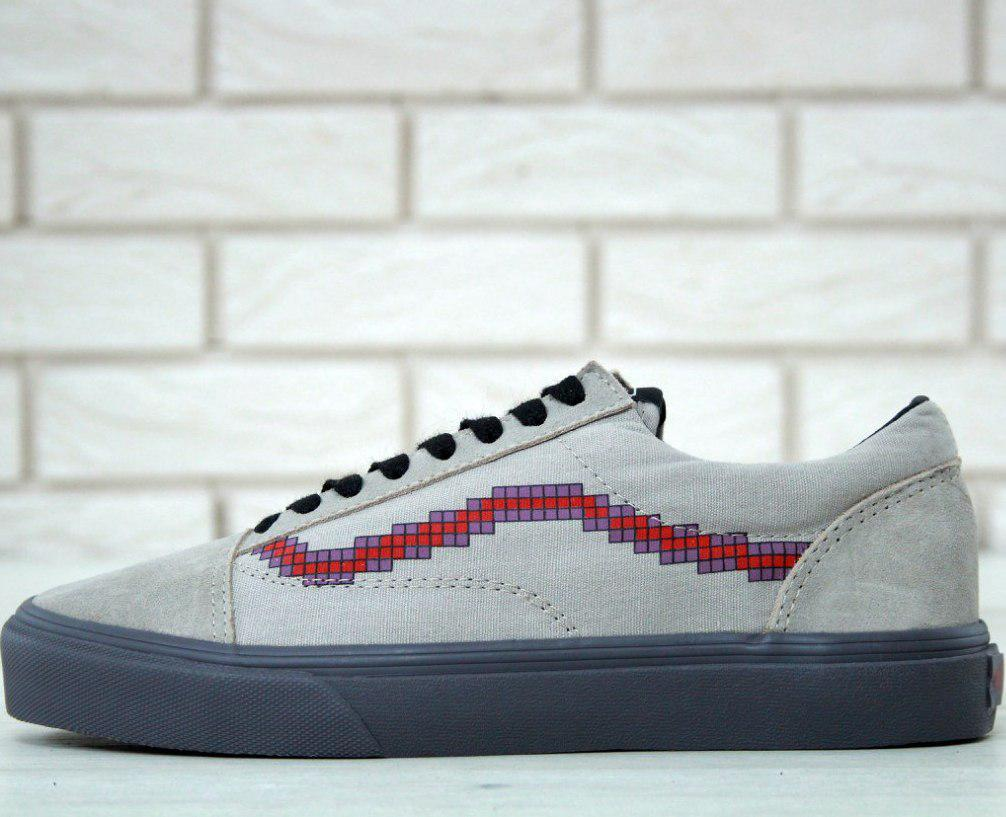 Кеды Vans Old Skool Nintendo Controlle Game Over (унисекс), vans old  school, ванс олд скул 092c18bef51