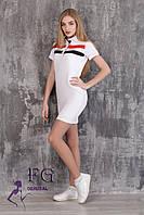 """Платье летнее """"Sunrise"""" - распродажа модели белый, 46"""