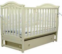 Детская кроватка Верес Соня ЛД 3 (маятник), цвет слоновая кость