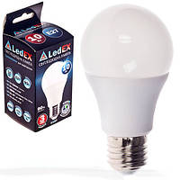 Лампа светодиодная 220V E27 12W 1140Lm 3000K 270º LEDEX (чип Epistar) Тайвань