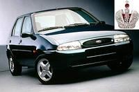 Автостекло, лобовое стекло на FORD (Форд) FIESTA + COURIER (1996 - 2001)
