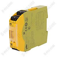 Реле безопасности PNOZ s6.1 24VDC 3NO 1NC pilz 750126