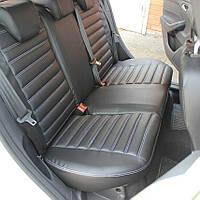 Nissan Leaf 2012+ гг. Авточехлы (кожзам, ECO)